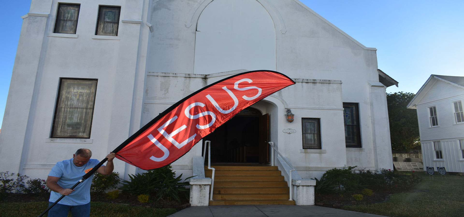 Jesus is King over Churches in Galveston